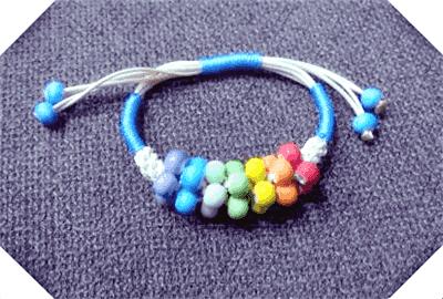 儿童手绳编法 儿童手链编法图解