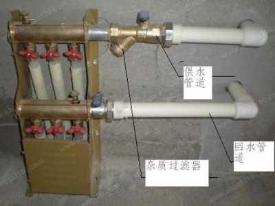 地热阀门开关示意图 如何辨别地暖分水器开关状态