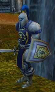 暴风城纹章盾 魔兽世界幻化暴风城卫兵装备搭配教程